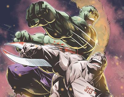 Hulk VS Diecast