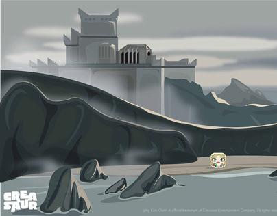 GOT- Dragonstone Background
