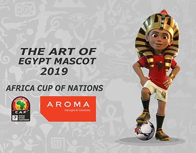 The Art Of Egypt Mascot 2019