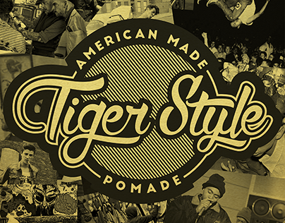 Tiger Style Pomade - Packaging