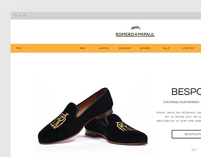 Romero McPaul Website
