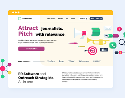 Just Reach Out — SaaS Platform For Media Pitching