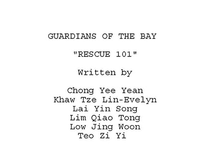 Screenplay & Scriptwriting: Guardians of the Bay