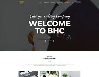 BHC Website Redesign Concept