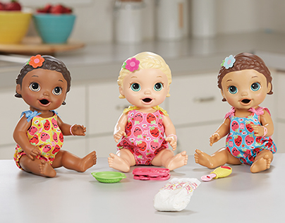 Hasbro Baby Alive Snackin' Lily