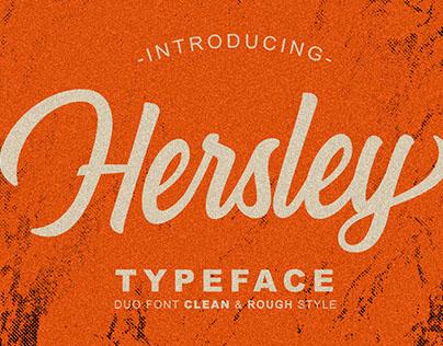 Hersley Typeface