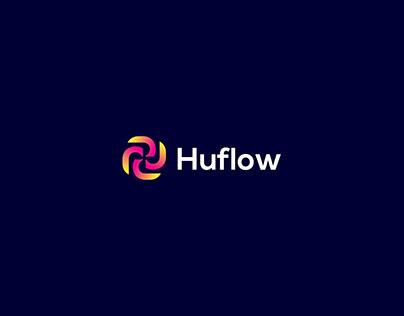 Huflow Logo Design-Modern Creative Logo
