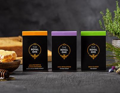 THE ROYAL ONE // 100% Greek flora honey