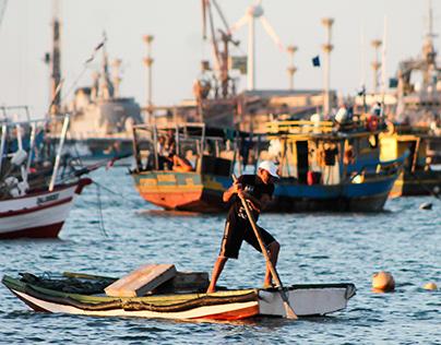 Praia doMucuripe - Fortaleza, Ceará.