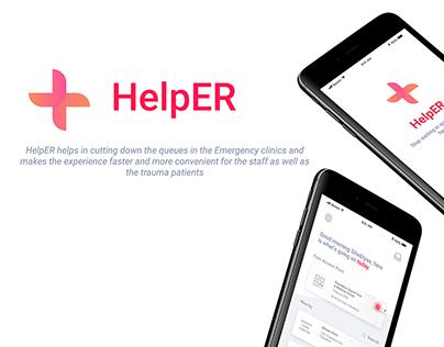 IXD101 - Final Project // HelpER
