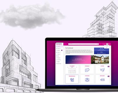 Real Estate Agency Dashboard UI (2017)