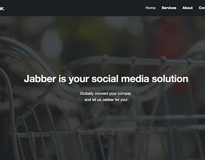 Jabber Web Dev Test