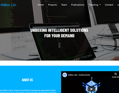 AiBox Lab Web