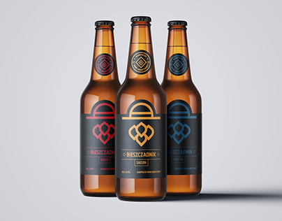Bieszczadnik – beer branding