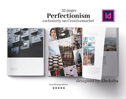 Perfectionism Yearbook Template