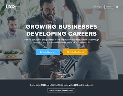 Concept recruitment website