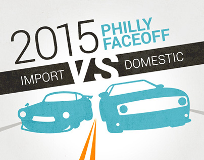 Promotional Graphics for Philly Auto Show