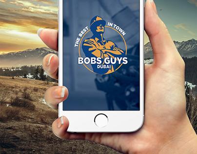 Bobs Guys - Mobile App Design