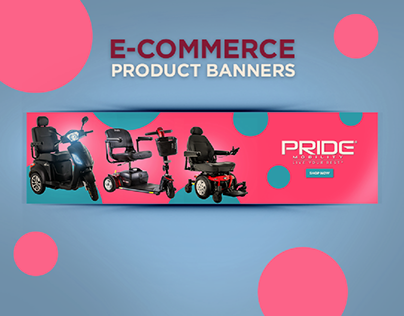 E-Commerce Mobility Product Banners