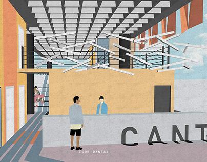 CANTO | Hostel + Espaço Co-working