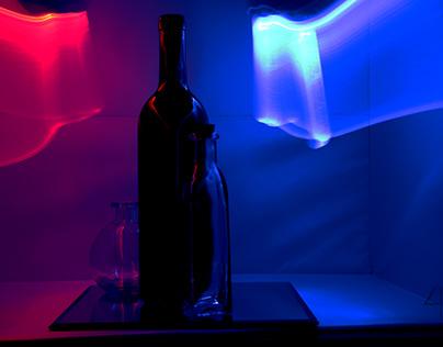 Red vs Blue bottle 3-4