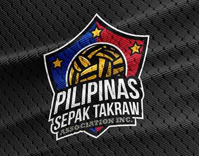 Pilipinas Sepak Takraw Logo Design