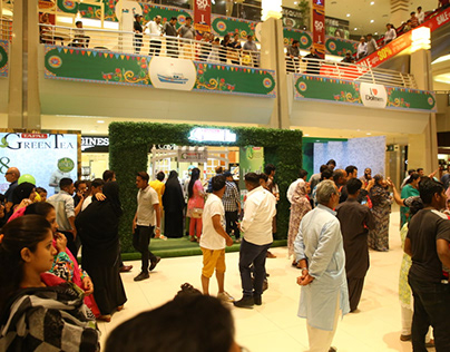 Tapal Green Tea Mall Setup