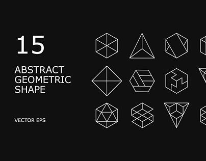 Free Abstract Line Geometric Shape Vector