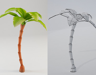 LOW-POLY TROPICAL JUNGLE