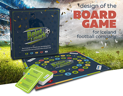 Design of the BoardGame for Iceland football company