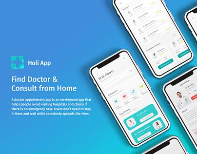 Medical app HOLI