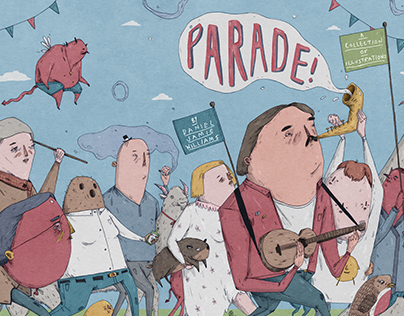'Parade' Illustrated Zine