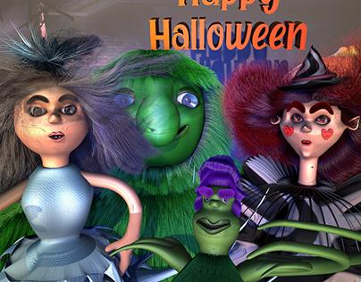 Feliz Halloween de Whontablu