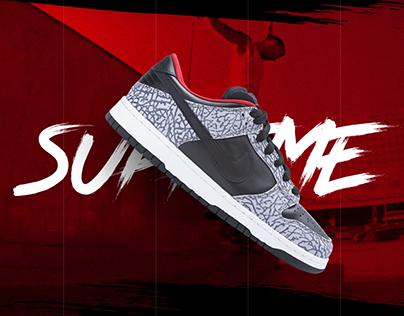 Nike Sb Dunk Tribute