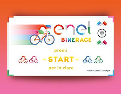 ENEL BIKE RACE Interactive table