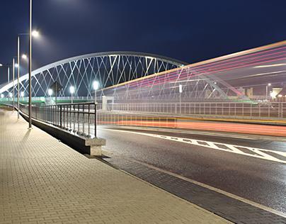 Photos of bridge in Żywiec
