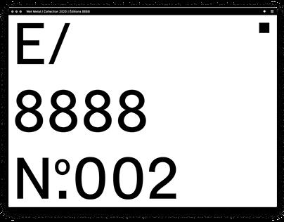 Éditions 8888