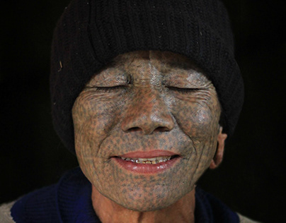 Woman Chin Tribe - Myanmar