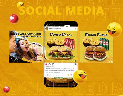 Social Media - Yellow Burgers