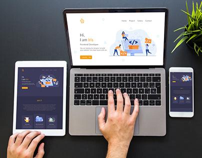 Landing Page Website - Personal Website