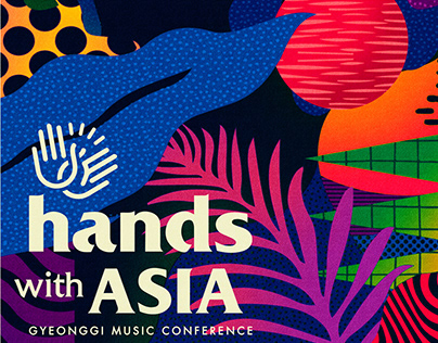 Hands With Asia Music Conference Identity Design