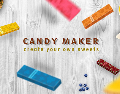 Candy maker - new product for children (concept)