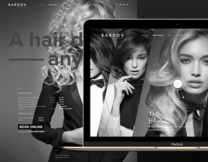 Blowdry Bar Responsive CMS Website