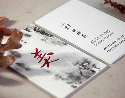 Cartão de visitas | Rute Yumi