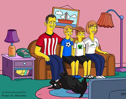 Simpsons Portraits 1