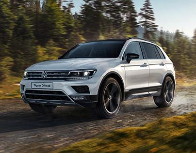 Volkswagen Tiguan OFFROAD KeyVisual