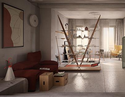 Venetian Studio Concept