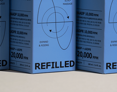 REFILLED | Brand Identity & Packaging