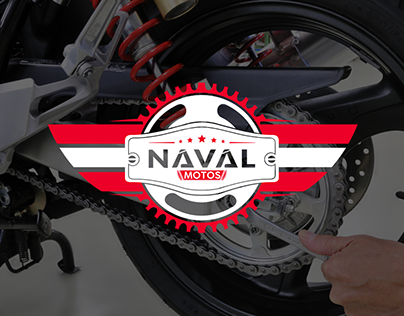 Branding - Naval Motos