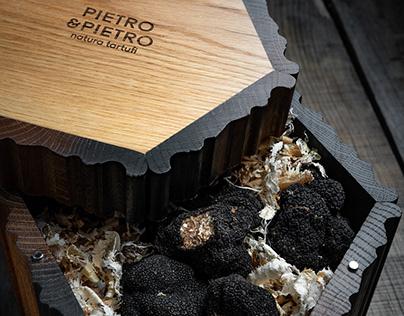 Pietro & Pietro fresh truffles packaging